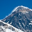 Top of the Mount Everest view from Kala Pattar, Nepal — Stock Photo
