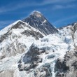 Mount Everest panorama photo was taken from the top of Kala Pattar — Stock Photo #5751638