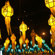 Street lanterns during Loy Krathong festival — Stock Photo #5752061