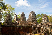 Ancient temple Banteay Kdei in Angkor Wat complex, Siem Reap, Cambodia. — Stock Photo