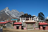 Tengboche - Buddhist Tibetan Monastery in Khumbu, Mont Everest region — Stock Photo