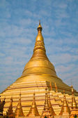 Shwedagon pagoda in Yangon, Burma — Stock Photo