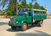 Old cargo car in Yangon, Myanmar (Burma) — Stock Photo