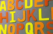 Alphabet-hintergrund — Stockfoto