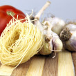 Fresh vegetables, Pasta — Stock Photo #6035274