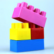 Plastic toy blocks — Stock Photo #6038309
