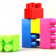 Plastic toy blocks — Stock Photo #6038329