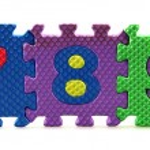 Alphabet puzzle pieces — Stock Photo #6049251