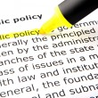 Public policy — Stock fotografie #6459257