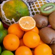 Fresh fruit market — Stock Photo