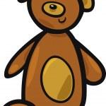 Teddy bear — Stock Vector #5656195