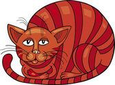 Red Cat — Stock Vector
