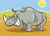 Rhinoceros — Stock Vector
