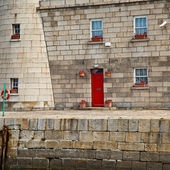 Detail of Howth Lighthouse — Stok fotoğraf
