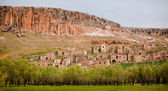 Abandoned village at Kizilkaya — Stock Photo