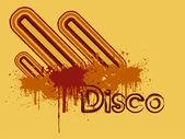 Grunge disco pozadí — Stock vektor