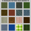 Seamless pattern pack — Stock Photo