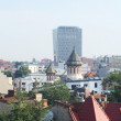 Bucharest buildings — Stock Photo