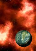 Apocalypse planet — Stock Photo
