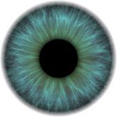 íris do olho — Fotografia Stock