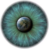 Planet eye — ストック写真