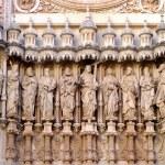 Sagrada Familia apostles — Stock Photo