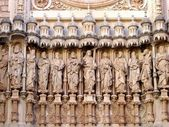 Sagrada Familia apostles — Stock Photo
