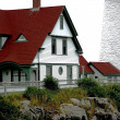 Stock Photo: Maine lighthouse2