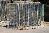 Lobster cages — Stock Photo