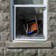 Chair in window2 — Stock Photo