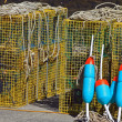 lobster cage buoys3 — Stock Photo