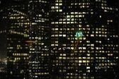 Exit. Night City — Stock Photo