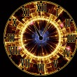 Abstract Clock Face - Stock Photo