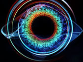 Géométrie de la technologie — Photo