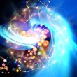 Colorful Abstract Burst - Stock Photo