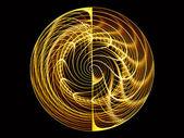 Dynamic Grid Background — 图库照片