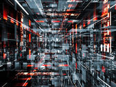 Abstract Technological Background — Stock Photo