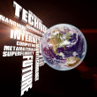 Technology  Earth — Stockfoto
