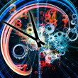 Stock Photo: Fractal Time