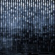 Number Matrix Background - Stock Photo