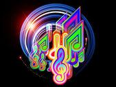 Licht musik — Stockfoto