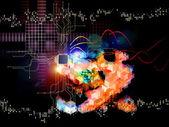 Digital Technology Abstract — Stock Photo