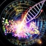 Molecular World — Stock Photo