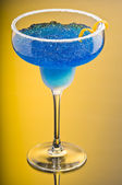 Cobalt Margarita — Stock Photo
