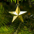 Star shape Christmas tree decoration — Foto de stock #6189974