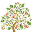 Royalty-Free Stock Vector Image: Stylized tree