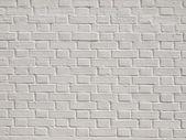 Uma parede de tijolos brancos — Foto Stock