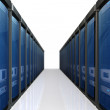 3d servers  datacenter - Stock Photo