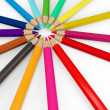3d colourful pencils — Stockfoto #6018097