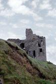 Old castle ruin ballybunion — Stock Photo